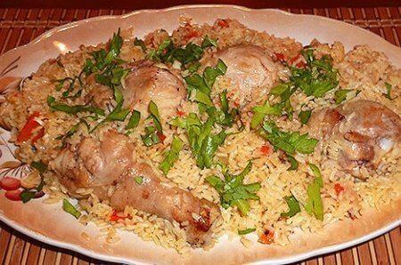 Куриные ножки в соевом соусе с рисом в мультиварке - рецепт и фото