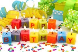 Блюда на день рождения - фото