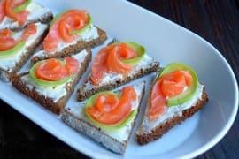 Бутерброды на праздничный стол - фото