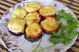 Баклажаны запеченные с сыром - фото
