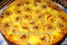 Банановый торт - фото