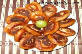 Бублики с фаршем жареные на сковороде - фото