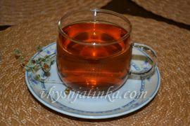 Чай из сушеной земляники