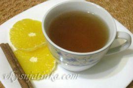 Чай с корицей - фото