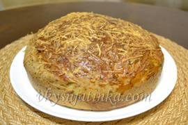 Итальянский хлеб в духовке - фото