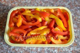 Как заморозить болгарский перец на зиму - фото