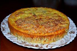 Капустный пирог для ленивых