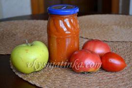 Кетчуп с яблоками в домашних условиях