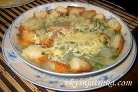 Классический луковый суп по-французски