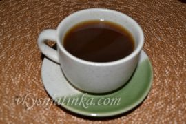 Кофе с коньяком и корицей