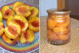 Консервированные персики на зиму