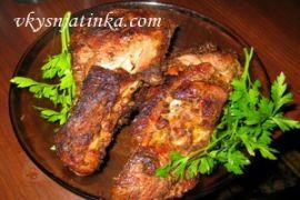Козье мясо на гриле