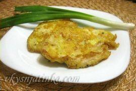 Куриное филе с сыром жареное на сковороде