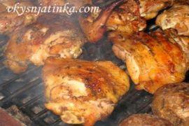 Куриные бедрышки на костре