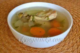 Куриный суп с картошкой в мультиварке - фото