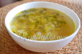 Куриный суп с лапшой и картошкой - фото