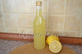 Лимончелло на водке в домашних условиях - фото