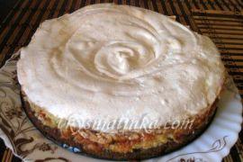Лимонный торт - фото