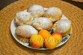 Маффины из абрикосов