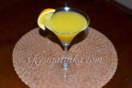 Мартини с апельсиновым соком - фото
