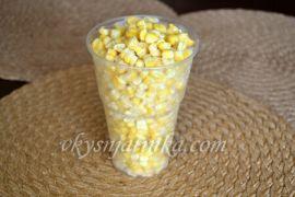 Мороженая кукуруза