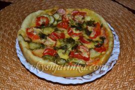 Пицца в мультиварке - фото