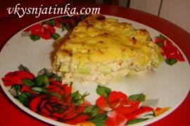 Пирог из кабачков в духовке - фото