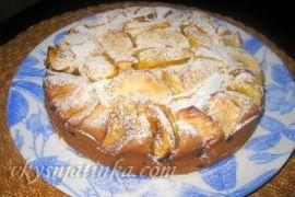 Пирог с хурмой - фото