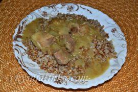 Вкусная мясная подлива из свинины