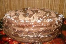 Пражский торт со сгущенкой в домашних условиях