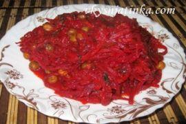 Рагу из овощей на сковороде