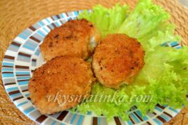 Вкусные рыбные котлеты из филе хека