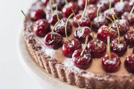 Шоколадный пирог - фото