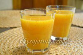 Смузи из хурмы и апельсина - фото