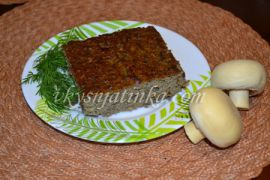 Суфле из говяжьей печени в духовке