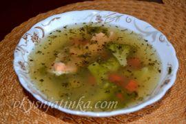 Рыбный суп из головы лосося - фото