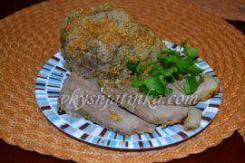 Свинина в горчице запеченная в фольге в духовке