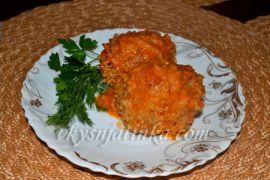 Тефтели с рисом в мультиварке - фото