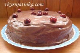 Торт «Пьяная вишня»