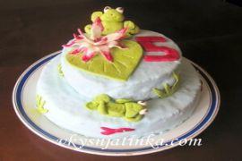 Торт «Зебра» - фото