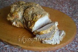 Вкусное филе индейки тушеное в мультиварке