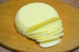 Твердый сыр в домашних условиях - фото