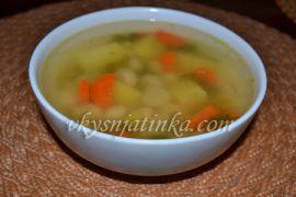 Вкусный куриный суп в мультиварке - фото
