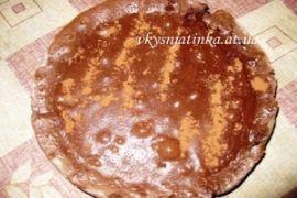 Вкусный шоколадный пирог - фото