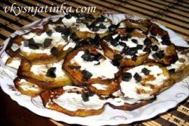 Закуска из баклажанов с чесноком