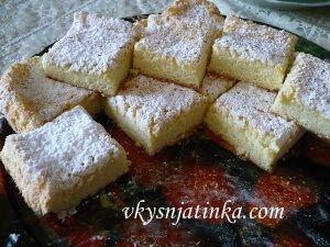 Бисквитные пирожные - фото