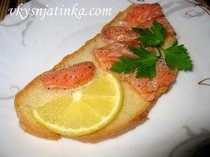 Бутерброды с красной рыбой - фото