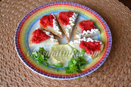 Быстрые бутерброды - фото