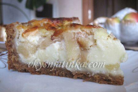 Цветаевский яблочный пирог - фото