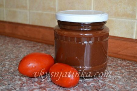 Вкусный домашний кетчуп из помидоров на зиму - фото